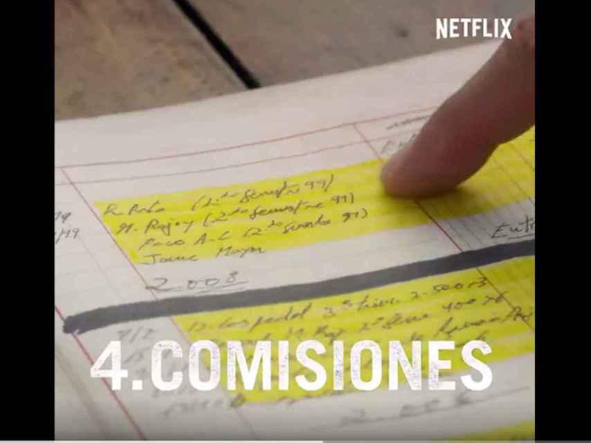 Un fragmento del vídeo promocional de Netflix.