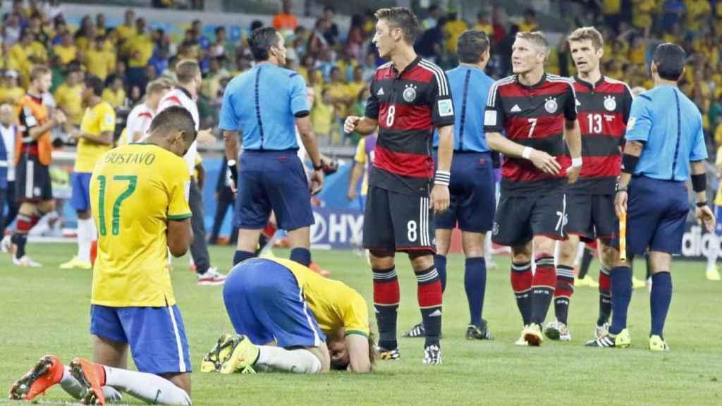 Semifinal Brasil-Alemania, Copa del Mundo de 2014.
