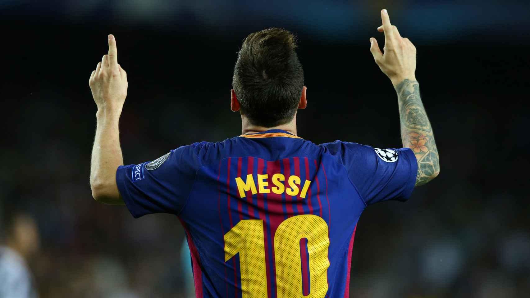 Leo Messi volvió a ser protagonista con gol, un balón al palo y la acción decisiva en el 2-0. / Reuters