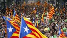 Manifestación de la diada de 2012