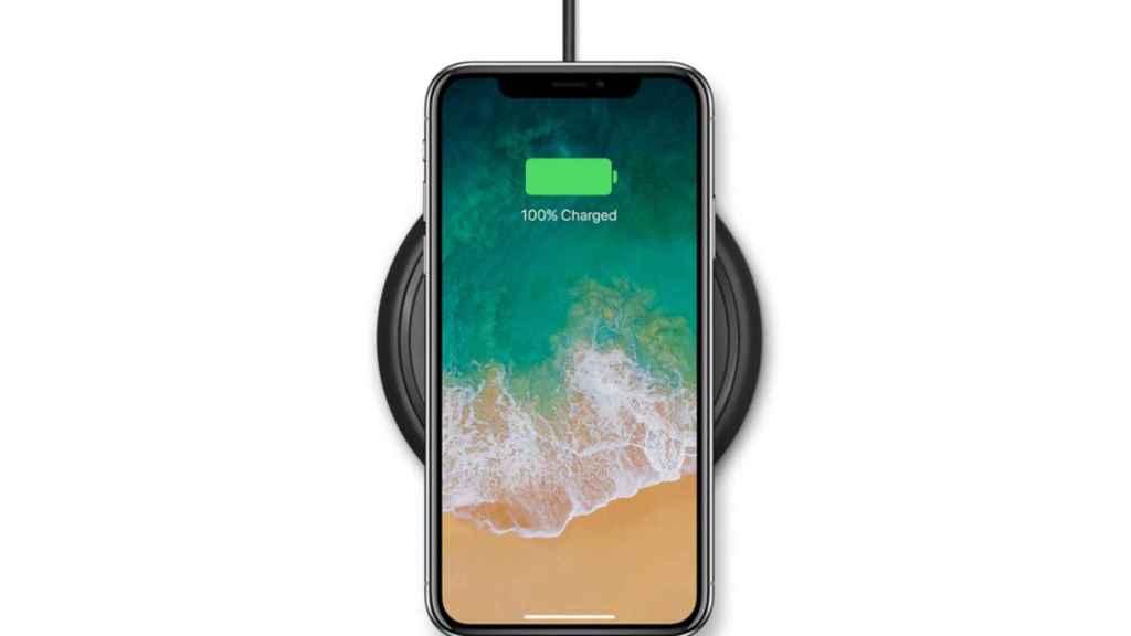 carga inalambrica iphone x apple