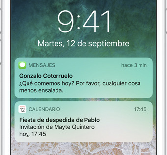 pantalla bloqueo ios 11 apple iphone 8 recortado