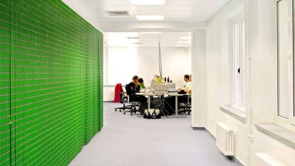 Imagen de la oficina de Idealista.