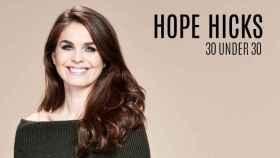 La revista 'Forbes'  la nombraba como una de las jóvenes más influyentes en EEUU.