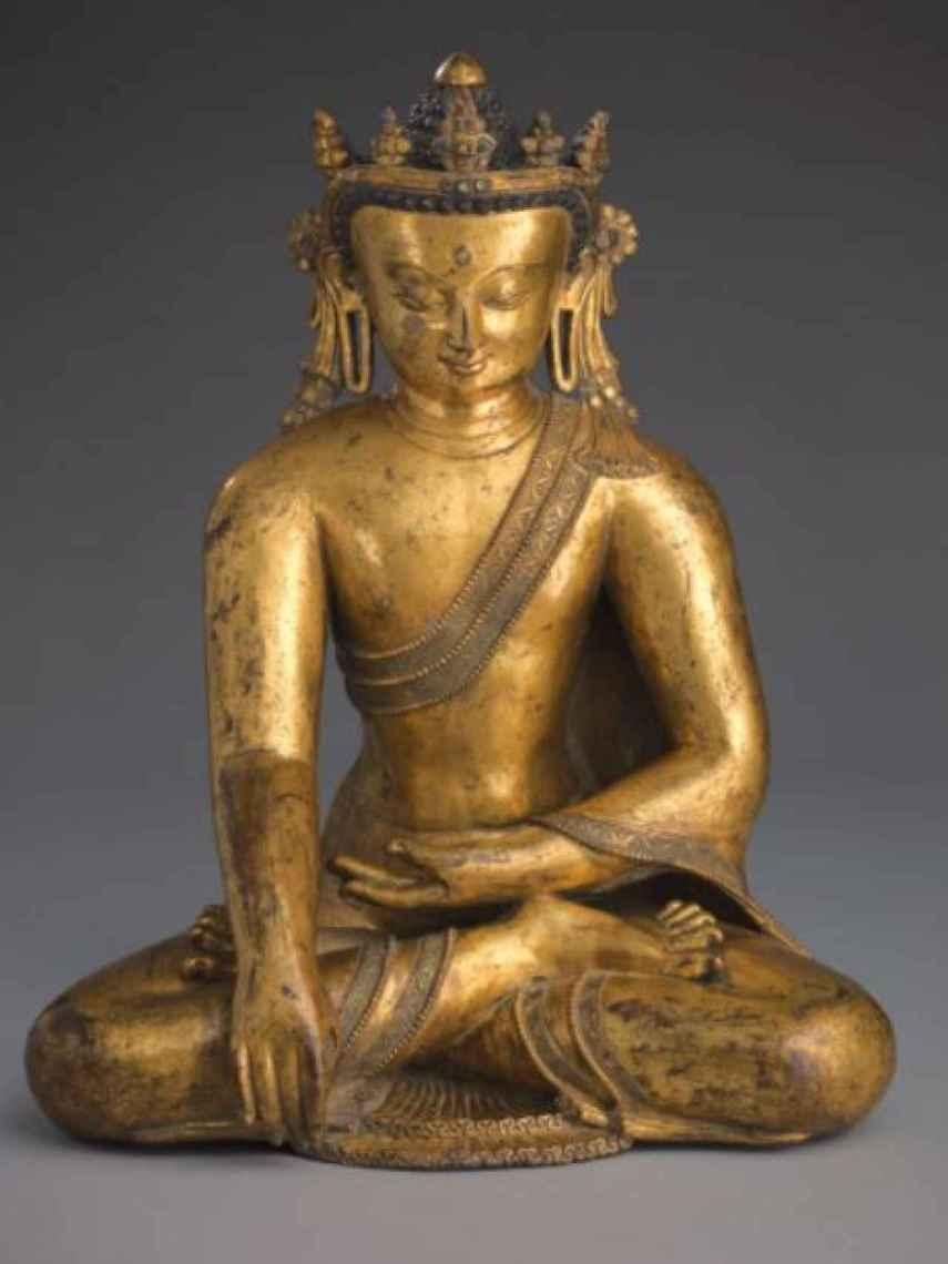 Imagen completa del Buda puesto a la venta.