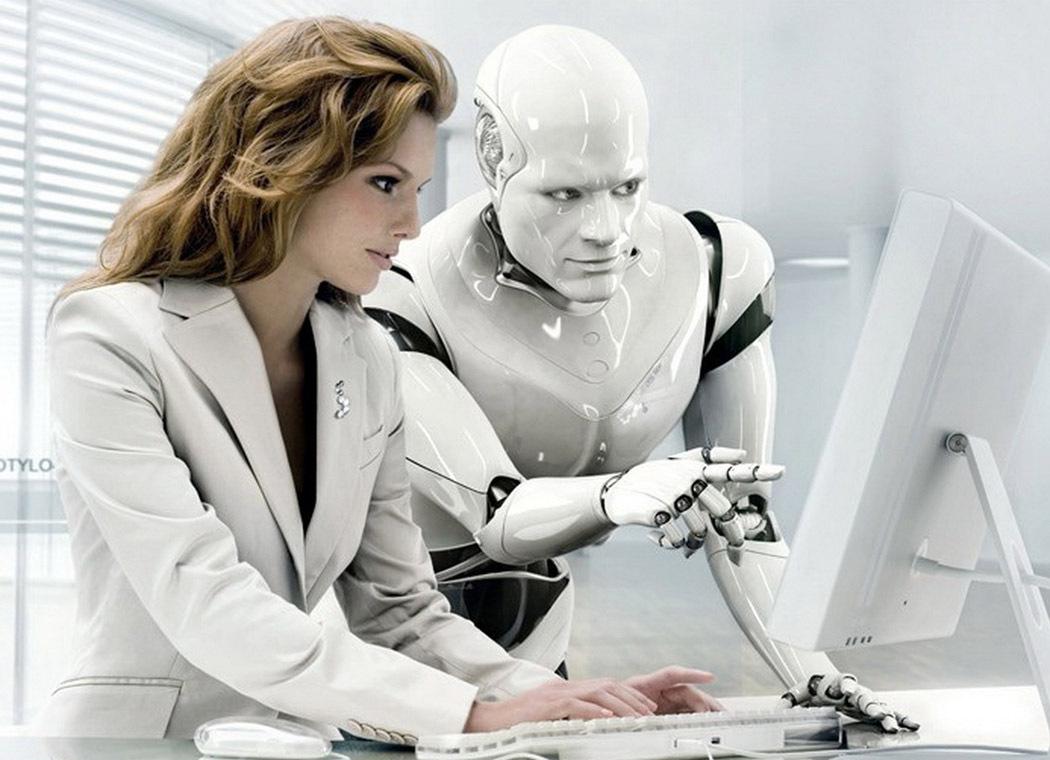 inteligencia artificial destacada mujer