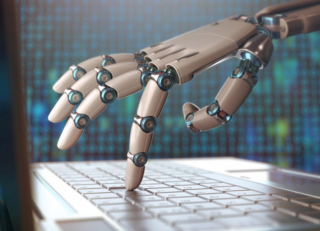 inteligencia artificial teclado