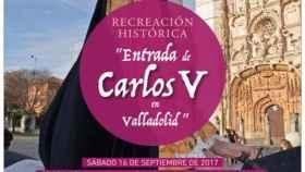 recreacion historica carlos v valladolid 1