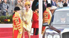 La reina Letizia alcanzó la cima durante su viaje a Reino Unido, el pasado mes de julio.