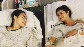 Selena Gómez ha recibido un trasplante de riñón