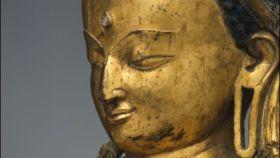 Cabeza del Buda de Cervera que ha vendido Christie's en Nueva York.