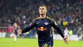 Werner celebrando un gol. Foto: dierotenbullen.com