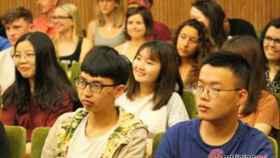 Foto 2.- Estudiantes internacionales