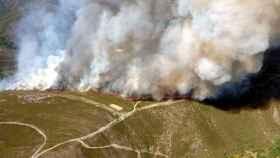Zamora incendio hermisende 2