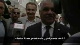 Un periodista dominicano confunde a Zapatero con Aznar.