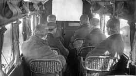 En los años 20 se proyectaban películas en aviones y era peligrosísimo