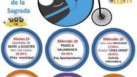 Semana movilidad carbajosa 2017 cartel programa salamanca