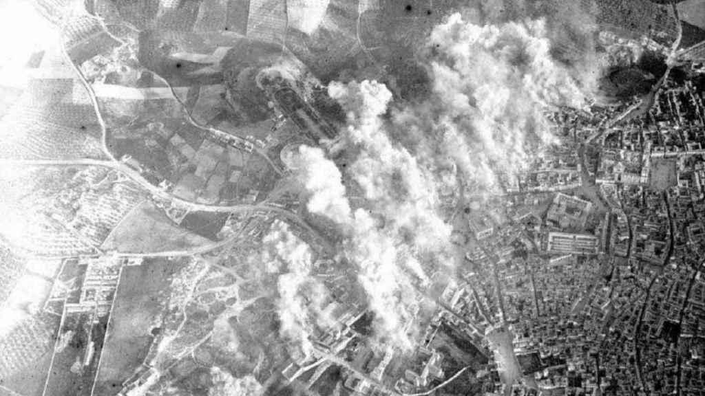 El bombardeo de Jaén en 1937 de los Junkers alemanes causó más muertos que el de Gernica.