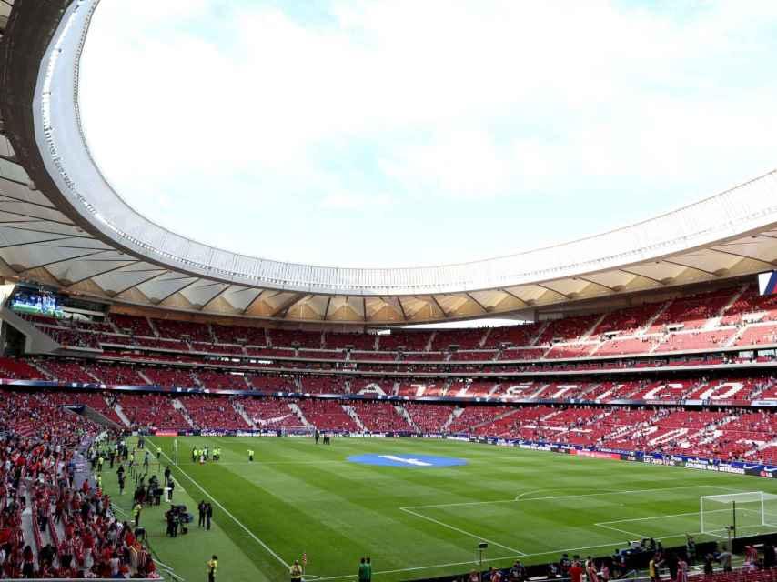 Una vista del Wanda Metropolitano.