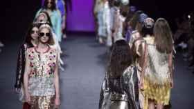 Desfile de Custo Barcelona en Mercedes-Benz Fashion Week Madrid. | Foto: GTRES.