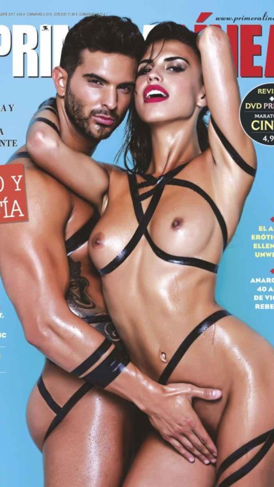 La portada que han protagonizado Sofía Suescun y Suso.