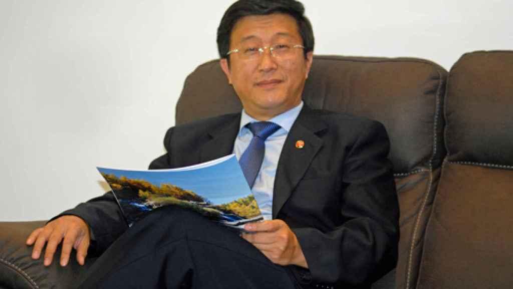 Kim Hyok Chol, el embajador de Corea del Norte en España.