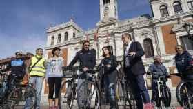 Valladolid-bicicleta-oscar-puente-concejales