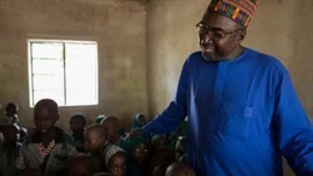 El maestro nigeriano Zannha Mustapha.