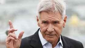 Harrison Ford presenta Blade Runner 2049. EFE.