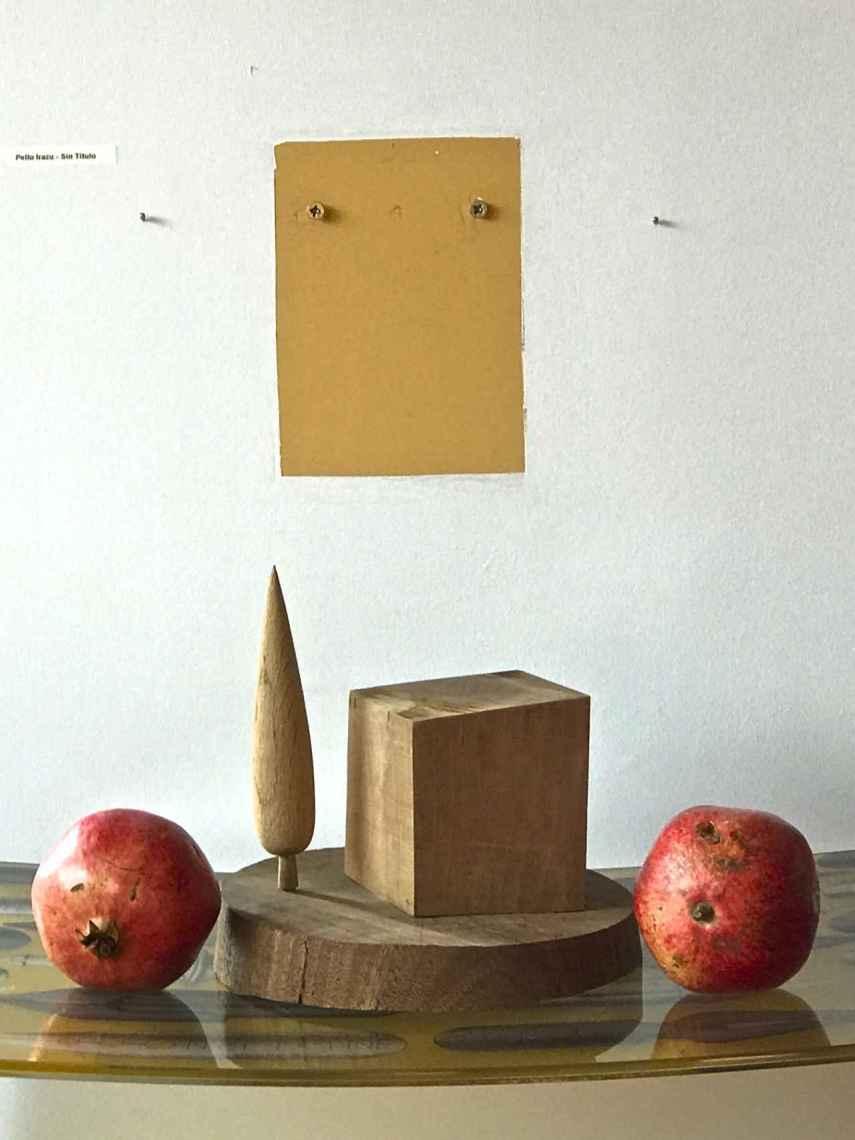 El hueco dejado por una obra de Pello Irazu.