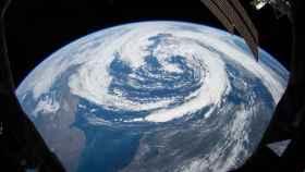 Fotografía del planeta Tierra tomada desde la Estación Espacial Internacional.