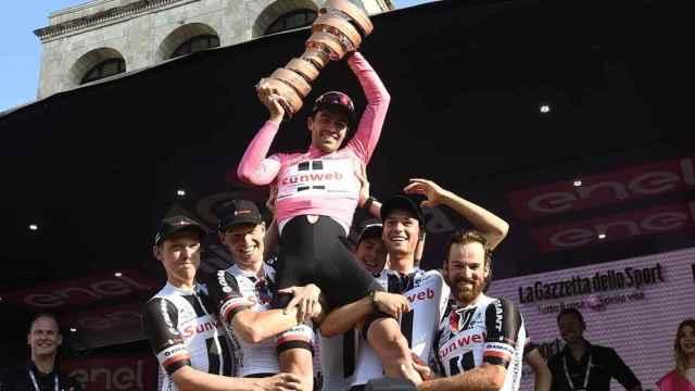 Dumoulin, ganador de la edición 2017 del Giro de Italia