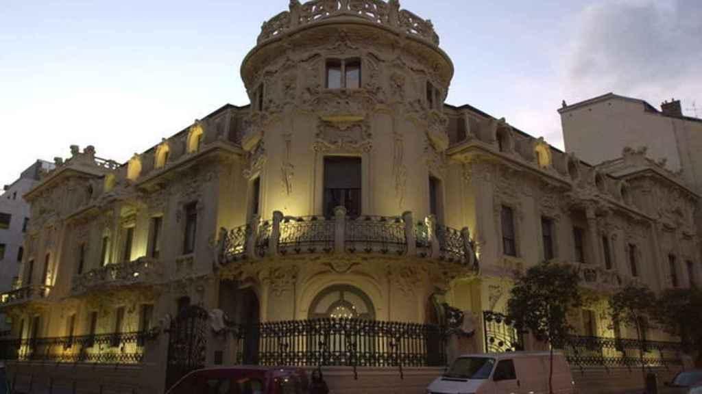 La sede de la SGAE en Madrid.