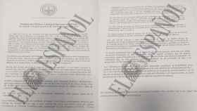 Documento del Ilustre Colegio de Abogados de Girona al que ha tenido acceso el El Español.
