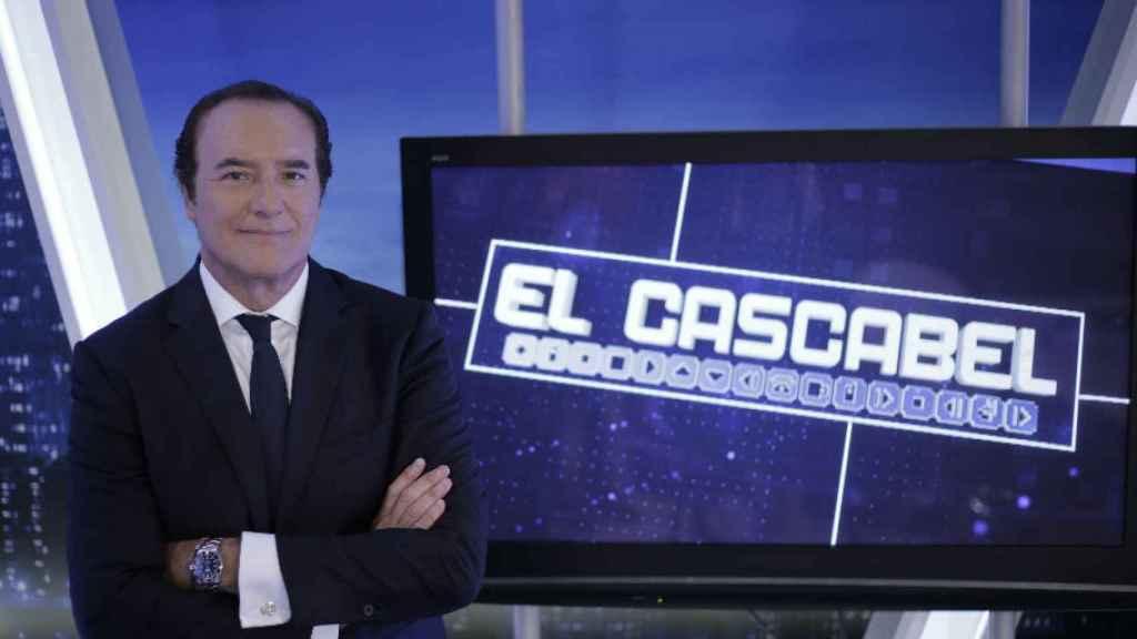 Antonio Jiménez, presentador de 'El Cascabel', el programa estrella de Trece.