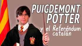 Este doblaje de Puigdemont en Harry Potter es tan bueno que querrás una segunda parte