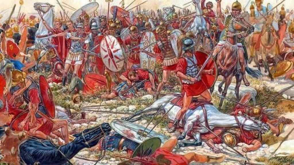Representación de las Guerras Púnicas