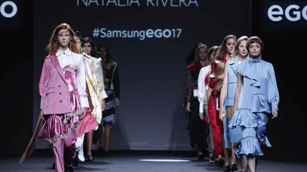 El desfile final de Natalia Rivera.