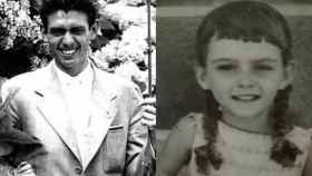 Leoncio González de Gregorio y Rosario Bermúdez, su supuesta hija.