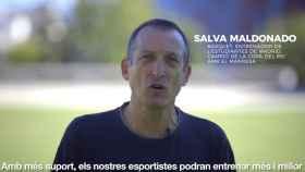 Salva Maldonado, en un fotograma del vídeo.