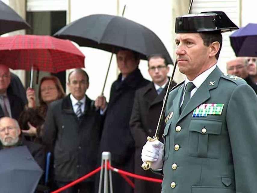 El Jefe de la Zona de la Guardia Civil de Cataluña, Ángel Gozalo Martín.