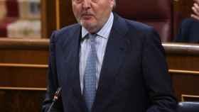 El ministro de Educación, Íñigo Méndez de Vigo, este miércoles en el Congreso.