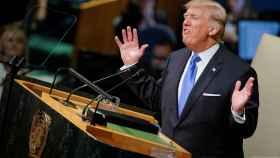 Trump en la Asamblea General de las Naciones Unidas.