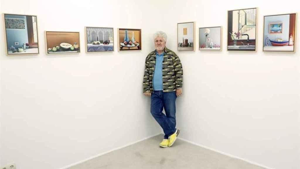 El cineasta en la sala Fresh Gallery de Madrid.