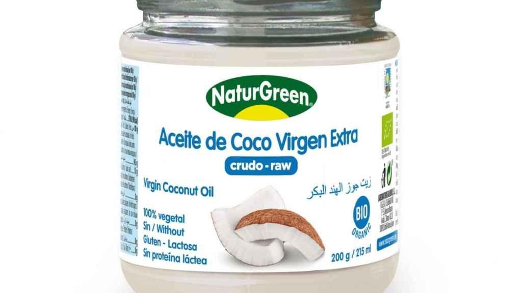 El aceite de coco de Naturgreen.