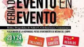 cartel feria eventos medina campo valladolid 1