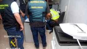 guardia civil esfafa vehiculos