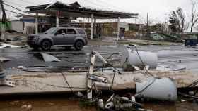 El huracán María llegó a Puerto Rico a principios de semana.