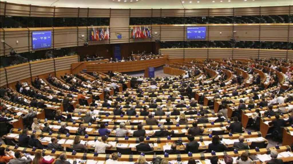 Vista del Parlamento Europeo.
