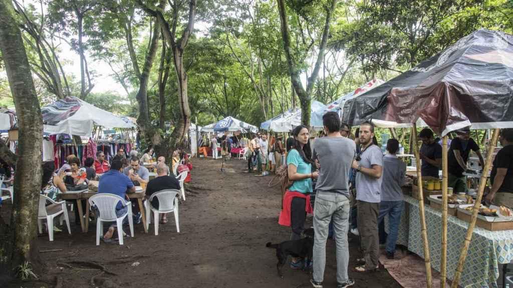 Cada sábado se celebra en San José la Feria Verde de Aranjuez, centrada en los productos ecológicos